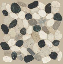 Shaw Floors Home Fn Gold Ceramic River Rock Sliced Tranquil Cool Blend 00159_TGL64