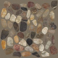 Shaw Floors Home Fn Gold Ceramic River Rock Sliced Rio Blend 00700_TGL64