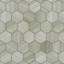 Shaw Floors Home Fn Gold Ceramic Estate Hexagon Mosaic Rockwood 00500_TGN87