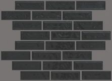 Shaw Floors Toll Brothers Ceramics Geoscapes Random Linear Mosaic Black 00555_TL45C