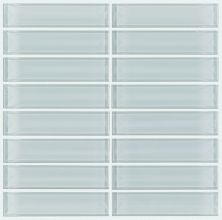 Shaw Floors Toll Brothers Ceramics Principal Stacked Glass Mosaic Cloud 00500_TL83B