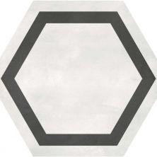 Casa Roma ® Geoshapes Ivory (7×8 Hexagon with Frame) CAS60405