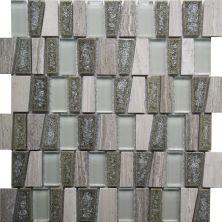 Casa Roma ® Glacier Glass Grey (11.25″x11.25″ Stairstep) CASGBS25T