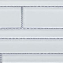 Casa Roma ® Glass Vogue Super White (6″x18″ Random Strip) CASGWR01RB