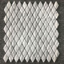 Casa Roma ® Shapes Tundra Grey (1″x1.8″ Diamond Mosaic Matte) CASJS03DM