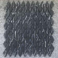 Casa Roma ® Shapes Nero Marquina (1″x1.8″ Diamond Mosaic Matte) CASJS05DM