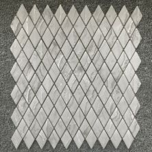 Casa Roma ® Shapes Taupe Travertine (1″x1.8″ Diamond Mosaic Matte) CASJS06DM