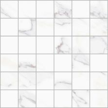 Casa Roma ® Super White Marbles Statuario Med (12×12 Mosaic Matte) CASMA6401HM1