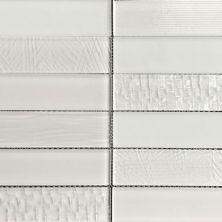 Casa Roma ® Glass Brix Cloud (2×8 Stacked Mosaic) CASMG0328MCP