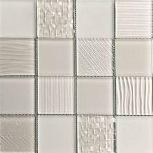 Casa Roma ® Glass Blox Taupe (3″x3″ Mosaic) CASMG07233MC