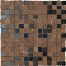 Casa Roma ® Metaline Corten Metal Mosaic (12″x12″) CASML02ME