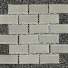 Casa Roma ® Waterfall Warm Grey (2″x4″ Mini Brick Mosaic) CASMON02M24