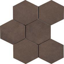 Casa Roma ® Cassini Tobacco (8″x7″ Hexagon Decor) CASR4CQ
