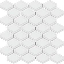 Casa Roma ® Wall Art White (Convex Diamond Glossy Mosaic) SAN51050