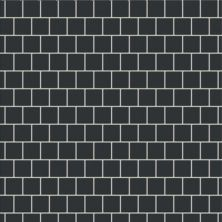 "Casa Roma ® Simply Modern Black (1""x1"" Mosaic) STOUSG12MS160"