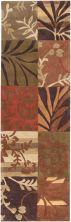 Surya Cosmopolitan Cos-8818 Burnt Orange 2'6″ x 8'0″ Runner COS8818-268