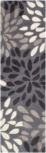 Surya Cosmopolitan Cos-9263 Charcoal 2'6″ x 8'0″ Runner COS9263-268