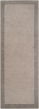 Angelo Home Madison Square Mds-1000 Medium Gray 2'6″ x 8'0″ Runner MDS1000-268
