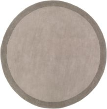 Angelo Home Madison Square Mds-1000 Medium Gray 6'0″ x 6'0″ Round MDS1000-6RD