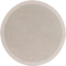 Angelo Home Madison Square Mds-1001 Light Gray 6'0″ x 6'0″ Round MDS1001-6RD