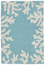 Liora Manne Capri Casual Blue 2'6″ x 4'0″ CAP34162004