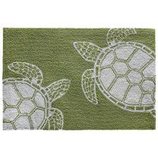 Liora Manne Capri Turtle Green 2'0″ x 3'0″ CAP23163416