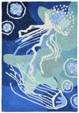 Liora Manne Capri Contemporary Blue 2'0″ x 3'0″ CAP23166504