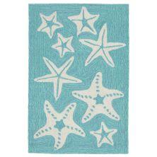Liora Manne Capri Casual Blue 2'0″ x 3'0″ CAP23166704