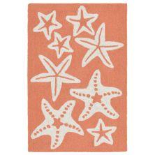 Liora Manne Capri Casual Orange 2'0″ x 3'0″ CAP23166718