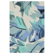 Liora Manne Capri Contemporary Blue 2'0″ x 3'0″ CAP23166803