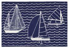 Liora Manne Capri Casual Navy 2'0″ x 3'0″ CAP23167333