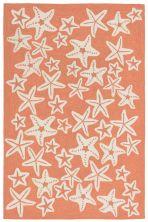 Liora Manne Capri Casual Orange 7'6″ x 9'6″ CAP71166718