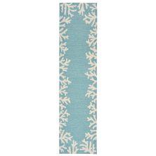 Liora Manne Capri Casual Blue 2'0″ x 5'0″ CAPR5162004
