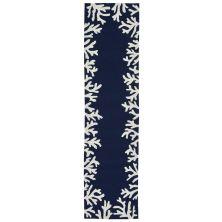 Liora Manne Capri Contemporary Blue 2'0″ x 5'0″ CAPR5162033