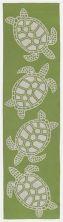 Liora Manne Capri Turtle Green 2'0″ x 5'0″ CAPR5163416