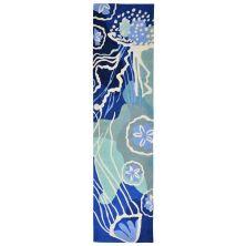 Liora Manne Capri Contemporary Blue 2'0″ x 5'0″ CAPR5166504