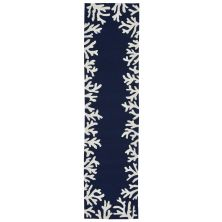 Liora Manne Capri Contemporary Blue 2'0″ x 8'0″ CAPR8162033