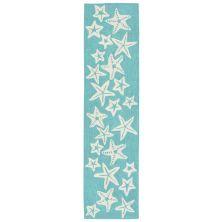 Liora Manne Capri Casual Blue 2'0″ x 8'0″ CAPR8166704