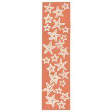 Liora Manne Capri Casual Orange 2'0″ x 8'0″ CAPR8166718