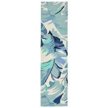 Liora Manne Capri Contemporary Blue 2'0″ x 8'0″ CAPR8166803