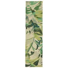 Liora Manne Capri Contemporary Green 2'0″ x 8'0″ CAPR8166806
