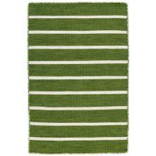 Liora Manne Sorrento Pinstripe Green 2'0″ x 3'0″ SRN23630506