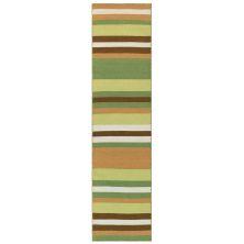 Liora Manne Sorrento Tribeca Green 2'0″ x 8'0″ SRNR8630126