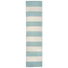 Liora Manne Sorrento Casual Blue 2'0″ x 8'0″ SRNR8630293