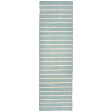 Liora Manne Sorrento Contemporary Blue 2'0″ x 8'0″ SRNR8630593