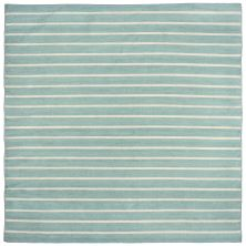 Liora Manne Sorrento Contemporary Blue 8'0″ x 8'0″ Square SRNS8630593