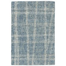 Liora Manne Savannah Mad Plaid Blue 2'0″ x 3'0″ SVH23950603
