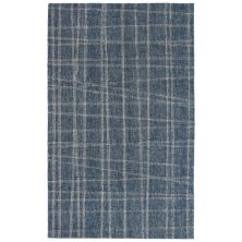 Liora Manne Savannah Mad Plaid Blue 5'0″ x 7'6″ SVH57950603