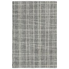Liora Manne Savannah Mad Plaid Grey 7'6″ x 9'6″ SVH71950619