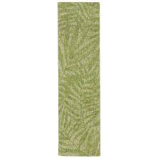 Liora Manne Savannah Olive Branches Green 2'0″ x 7'6″ SVHR8950006